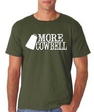 More Cowbell SNL Funny T Shirt Nerd Gift Rock Saturday Night Live Ferrel BOC