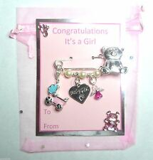New Baby, Birth, Twins, It's a Boy, It's a Girl Congratulations Keepsake Gift
