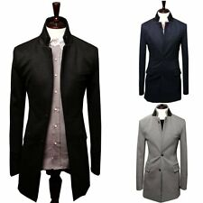 HOT Style Mens Casual Slim fit Two Button Suit Blazer Coat Business Jackets
