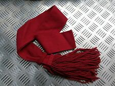 Genuine British Army Guards / Army Infantry Burgundy / Maroon Sash  - All Sizes