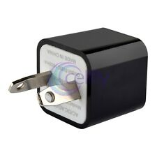 AU Plug USB Square Mini Travel Power Charger Adapter for Apple HTC Nokia Samsung