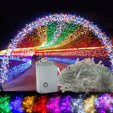 10M/20M 100/200 LEDs Bulbs Christmas Fairy Garden Party Waterproof String Lights