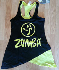 ZUMBA®  Two-tone Long Loose tank - Black - From the 2014 Zumba Convention