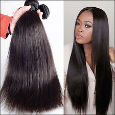 50g/Bundle Unprocessed Malaysian Human Hair Extension Weft Silky Straigt Weave