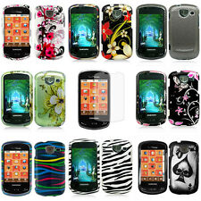 Colorful Design Hard Snap On Cover Case Samsung Brightside U380 Verizon w/Screen