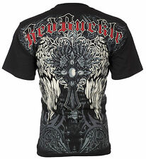 (15) UP2U Mens T-Shirt CROSS WINGS Tattoo Biker MMA UFC ROAR XZAVIER M-XXL $35 a