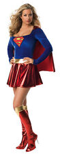 Adult Sexy Supergirl Secret Wishes Superman DC Costume Fancy Dress Up