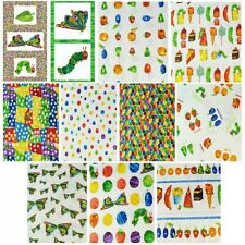 The Very Hungry Caterpillar & Food 100% Cotton Fabric