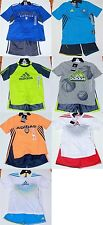 *NEW*  ADIDAS ATHLETIC GIRL'S/BOY'S SHORT SET/GYM/SPORTS/WARM-UP/CLIMACOOL/2T-6