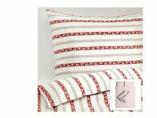IKEA  SINGLE,QUEEN, KING BED Quilt Cover &Pillow Cases Set 100% Cotton-NEW