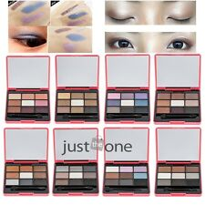 Colorful Makeup Cosmetic Women 9 Colors Eyeshadow Palette Coastal Scents Box New