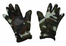 G116 MENS BLACK FRIDAY XMAS SALE FLEECE LINED THERMAL CAMOUFLAGE FISHING GLOVE