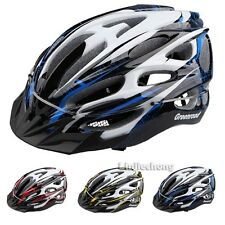 Mountain MTB Cycling Bicycle Adult Mens Bike Helmet Capacete With Visor PVC+EPS
