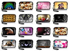 Pattern Case Pouch Hand Strap Bag Carry Cover For Panasonic Lumix Digital Camera