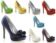 Pleaser Lumina 42 Ruffle Open Toe Platform High Heel Shoe Wedding Prom 5-11