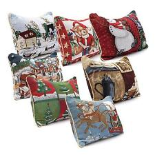 Cotton Christmas Xmas Cushion Cover Throw Pillow Case Decor Sofa Bedroom 32x45cm