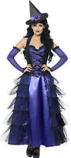 Smiffys GLAMOROUS WITCH COSTUME Halloween Adult Womans/Ladies Fancy Dress BN