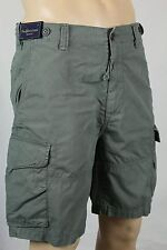 Polo Ralph Lauren Grey Relaxed Fit Chino Cargo Shorts NWT