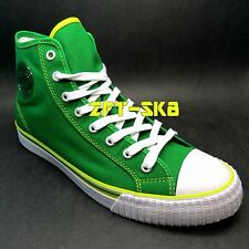PF FLYERS by NEW BALANCE CENTER GREEN YELLOW MENS HIGH TOP CASUAL SNEAKERS SHOES