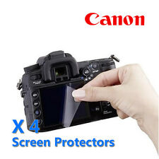 4x Camera LCD Screen Guard Protector For CANON EOS PowerShot IXUS Digital Camera