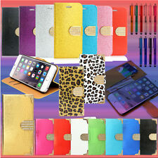 For iphone 6 / 6S Wallet Case 4.7 / Plus 5.5 Luxury Leather Stand Card Cover