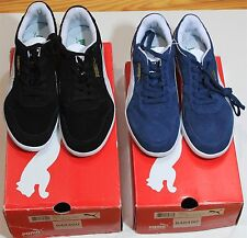 *NWB* Mens Puma Icra Trainer Classic Shoes Black/White or Dark Denim -Many Sizes