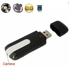 Mini DVR Video Recorder  U8 USB Disk HD Hidden Spy Camera Motion Detector & 8GB