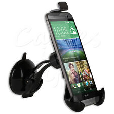 PREMIUM QUALITY IN CAR WINDSCREEN MOUNT HOLDER CRADLE FOR HTC MOBILE PHONES