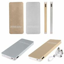 20000mAh Portable External Battery Charger Backup Power Bank For Smartphone