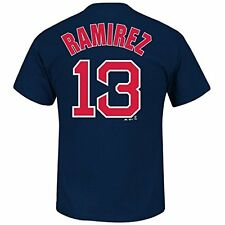 Boston Red Sox Hanley Ramirez Navy Name and Number T-Shirt