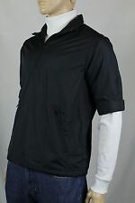 POLO GOLF RALPH LAUREN BLACK HALF ZIP JACKET WINDBREAKER NWT $125