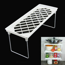 Stackable Kitchen Fold Storage Shelf Rack Bathroom Organiser Debris Holder Rack