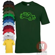 BEACH BUGGY retro cool VW dune car funny T-shirt
