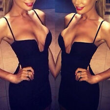 Hot Sexy Women Clubwear Sleeveless Bodycon Fit Mini Dress Evening Party Cocktail