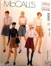 McCall's 8393 Misses A-Line Skirts Pattern MANY SIZES OOP VINTAGE UNCUT