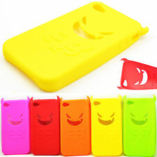 Soft Rubber Silicone Phone Case Cover Protective For Apple IPhone 4 4S 4G 4GS