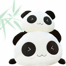 Cute Plush Toy Panda Doll Bear Pillow Cuddly Bolster Ragdoll Gift For Women Girl