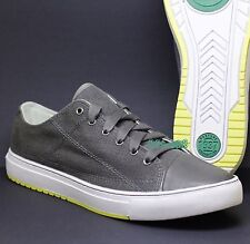 PF FLYERS (by NEW BALANCE) ALBIN GREY MENS CASUAL SNEAKERS SHOES