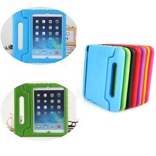 Shock Proof Case Cover For iPad Air 5 7 colours EVA Foam folded stand Handle