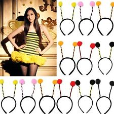 Bees Headband Headdress Costume Accessory Bumble Head Girls Kids Cosplay Party