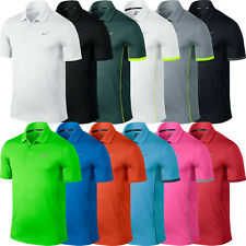 2015 Nike Dri-Fit Modern Tech Ultra Polo Mens Funky Golf Polo Shirt