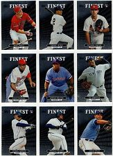 2013 Topps Finest Base Cards You Pick #31-#60 Includes with Rookie Cards & Stars