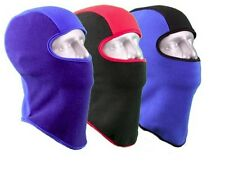 Boys Kids Child 4-7 Years Micro Fleece Balaclava Mask Hood Gator NWT #57865
