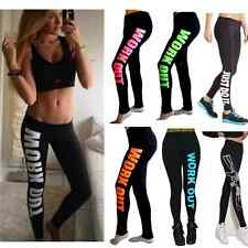 Sexy Spring Women's Work out/Gun/Boy Print Sports Slim Pants Harajuku Leggings