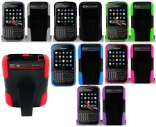 For Blackberry Classic AT&T/Verizon Hybrid Stand Multi Color Hard Cover Case