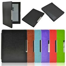 PU Leather Auto Wake Sleep Smart Flip Cover Case For kobo aura(non HD)6 With Pen