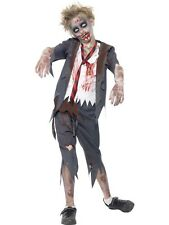 Zombie School Boy Child Costume