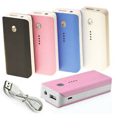 5600mAh External Battery Power Bank Charger For iPhone Samsung CELL Mobile Phone