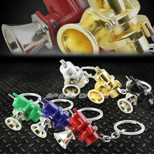 RACE CAR TURBOCHARGER BLOW OFF VALVE BOV METAL KEYCHAIN KEY CHAIN RING