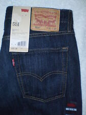 Levis 514 Mid Slim Fit Straight Leg Mens Denim Blue Jeans Many Sizes New $64